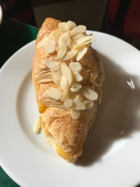 Almond Croissant at Patisserie Valerie